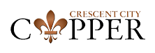 Crescent City Copper New Orleans Louisiana Logo
